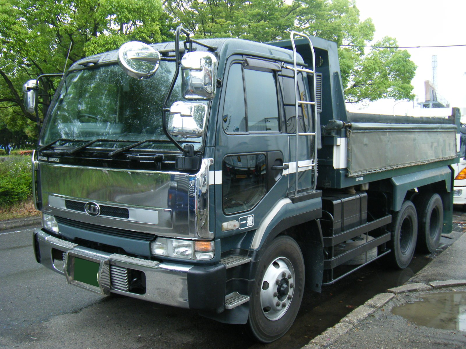 Nissan UD Dump Truck – MIVA Import Export | Trini Cars for Sale Roll ...